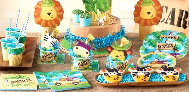 Addobbi festa compleanno Avventura safari per bambini