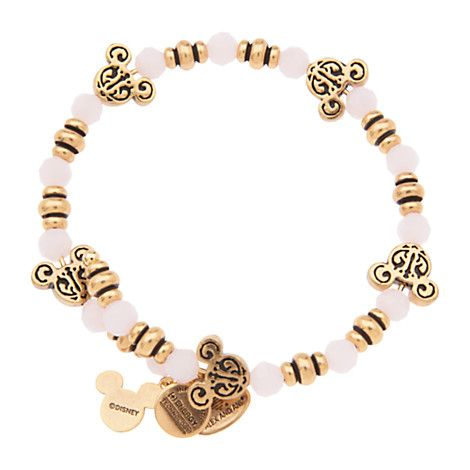 Mickey Mouse Filigree Beaded Wrap Bracelet by Alex and Ani