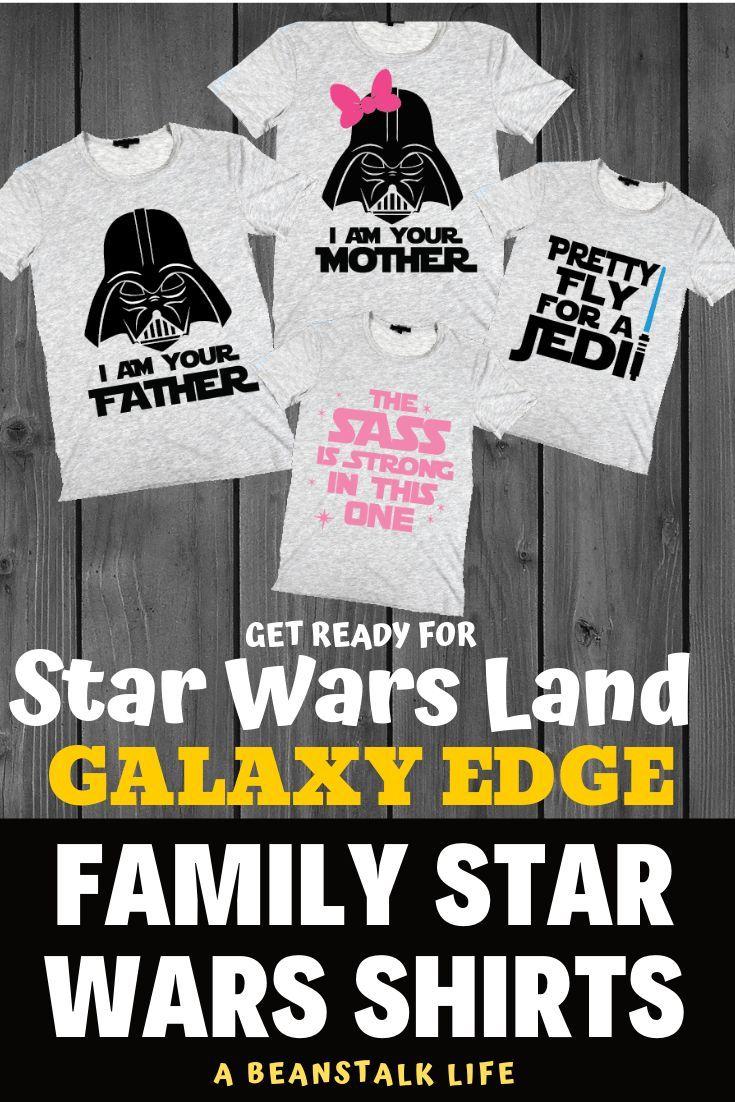 Family Star Wars Shirts for Galaxy's Edge - Disney's New Star