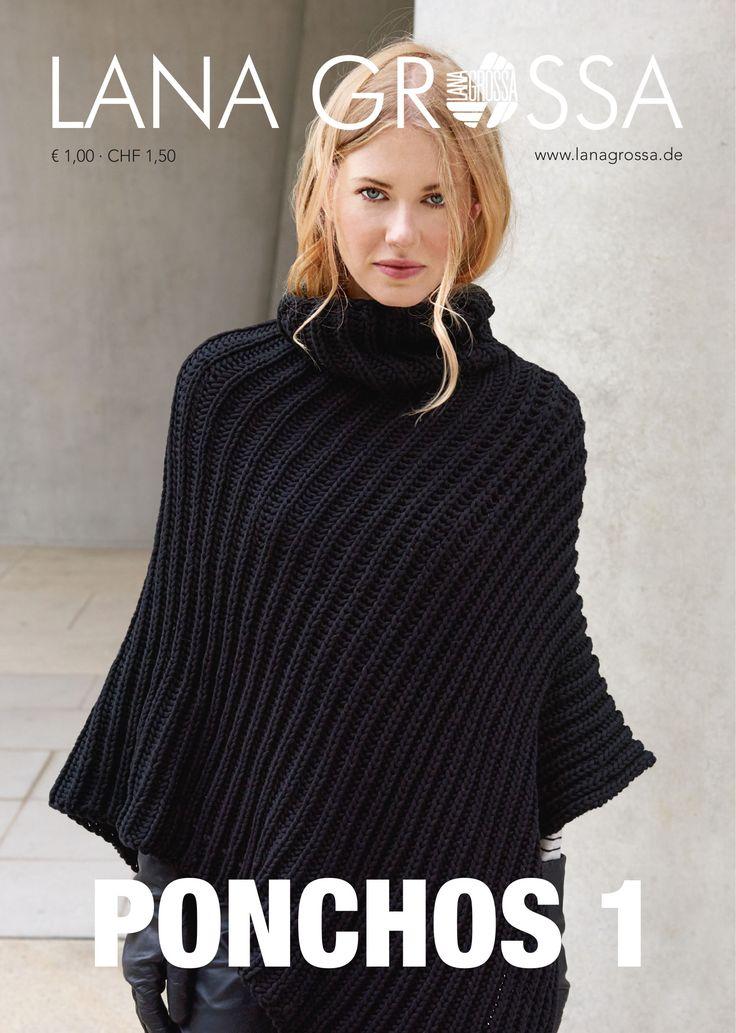 Lana Grossa PONCHOS 1 Flyer | FILATI.cc WebShop