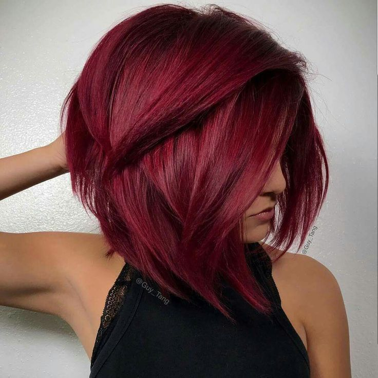 Vibrant intense red