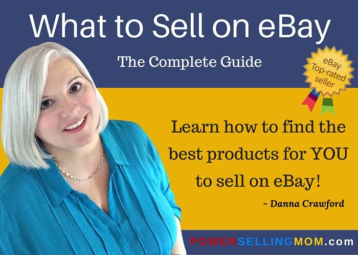 """Many times people want to become an eBay seller but feel they don't have anything to sell.  Often times folks feel overwhelmed. They don't know where to find """"stuff"""" to sell on eBay or how to make money once they do. - READ MORE #ebay #powersellingmom"""