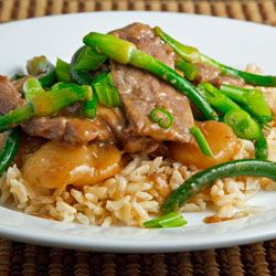 Beef and Garlic Scape Stir-fry | food | Pinterest