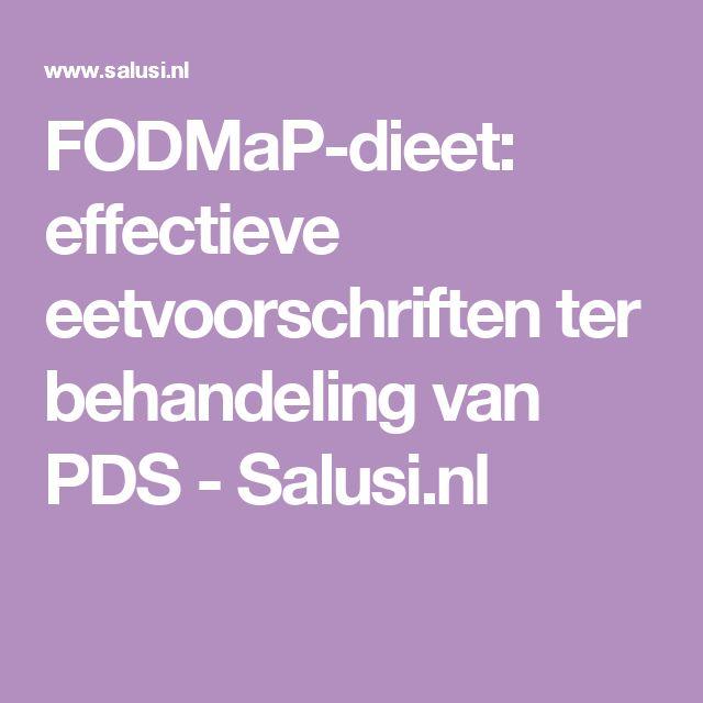 FODMaP-dieet: effectieve eetvoorschriften ter behandeling van PDS - Salusi.nl