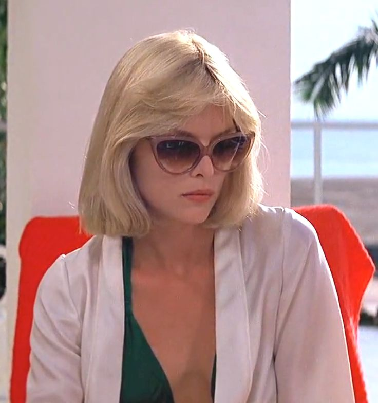 "Michelle Pfeiffer (1983) - Elvira in ""Scarface"" from Brian De Palma - © Universal Pictures"