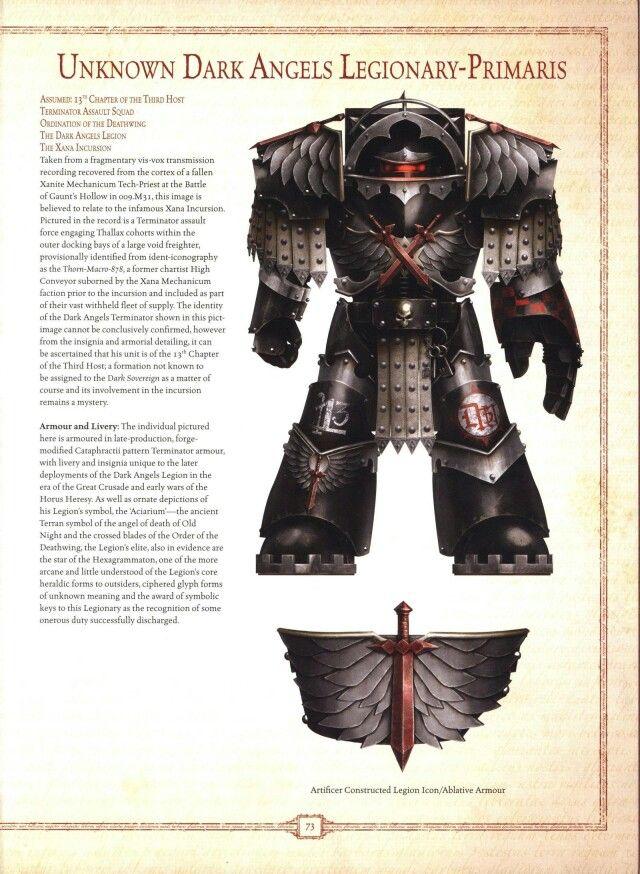 Dark Angels Legionary-Primaris