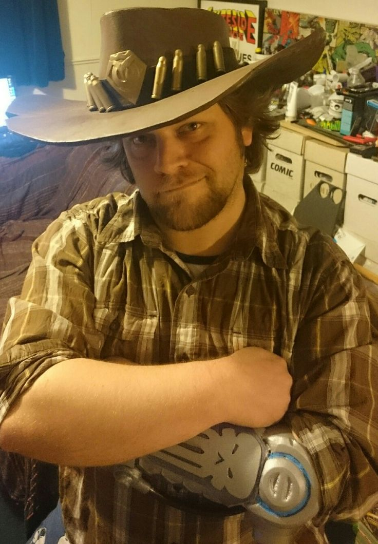 Casual McCree, check out my page Guardian of Avalon cosplay on Facebook