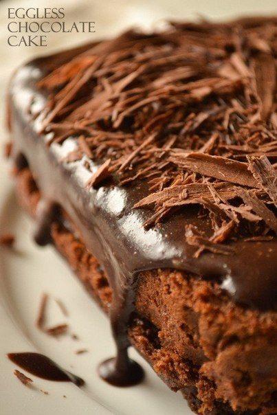 Рецепт блюда Супер-влажный шоколадный пирог (без яиц), на сайте Good Recept.
