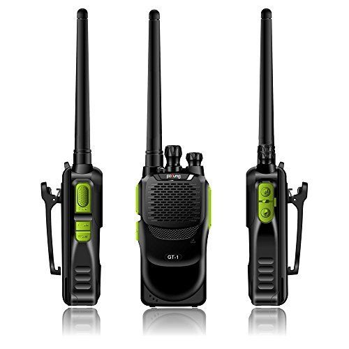 Baofeng Pofung GT-1 UHF 400-470MHz FM Two-way Ham Radio(Green), 16 Channels, 1500mAh Battery, 2 Pack. For product info go to:  https://all4hiking.com/products/baofeng-pofung-gt-1-uhf-400-470mhz-fm-two-way-ham-radiogreen-16-channels-1500mah-battery-2-pack/