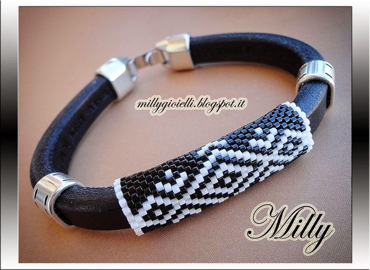 Milly Creations - gioielli realizzati a mano : Schema Griglia a Peyote per…