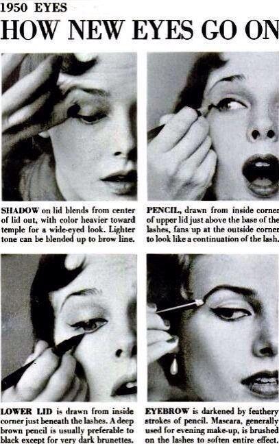 1950s eyeliner tutorial