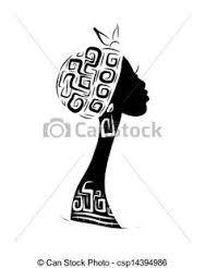 Resultado de imagen para siluetas de mujeres egipcias