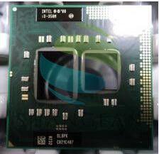 Intel Core laptop Mobile I3-350m I3 350m  SLBPK PGA988 original Socket G1 CPU 3M Cache/2.26GHz/Dual-Core processor Support HM55