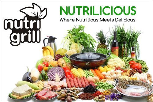 Nutrigrill Indoor Electric Barbecue Grill Healthier Cooking