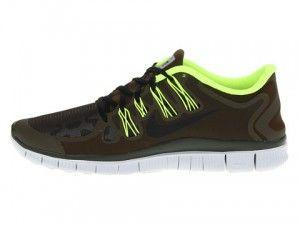 Nike Free 5 0 Shield Heren Donker Olijfgroen Neon Groen Platina Kleur Zwart Hardloopschoenen 615988 307 kopen Factory Store Belgie