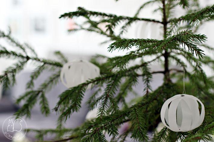 Oravanpesä | DIY: paperipallokoristeet