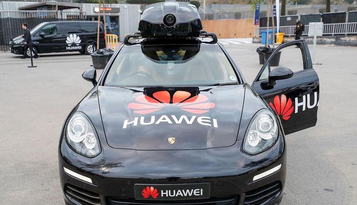 Huawei presenta su carro conducido por un celular - Venezuela Al Día