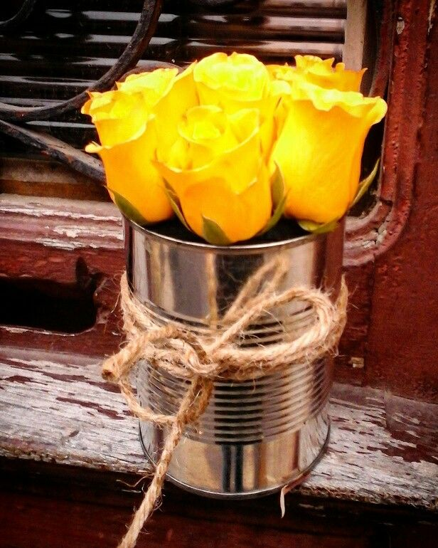 Roses in a can...