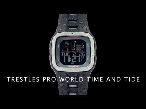 How to set a Rip Curl Tide Watch | Trestles Pro World Tide & Time Training - Southern Man Surf Shop | The Original Surf Shop, Ulladulla NSW Australia | Surf Shop Online