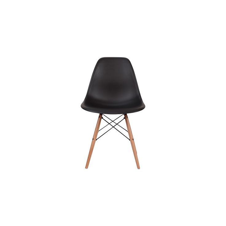 Dining chairs, nood dsw dining chair - black