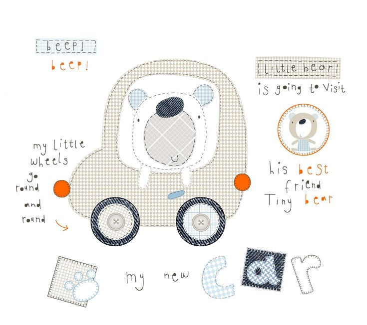 All about surface pattern ,textiles and graphics: All the characters you can do and it still it ends up as a bear !!
