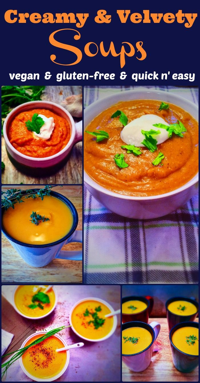 These soups will warm you up on cold nights and keep your taste buds satisfied. Find the recipes on Elle's Gourmet Life.