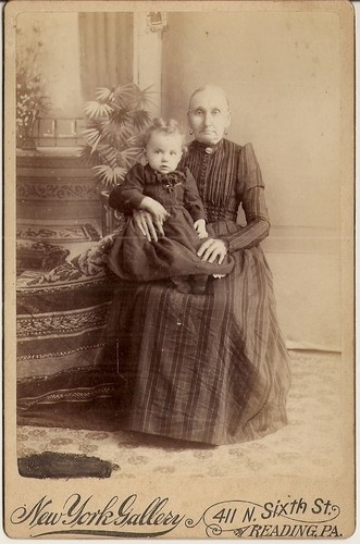 Grandmother Holding Her Grandchild Reading Pennsylvania New York Gallery | eBay