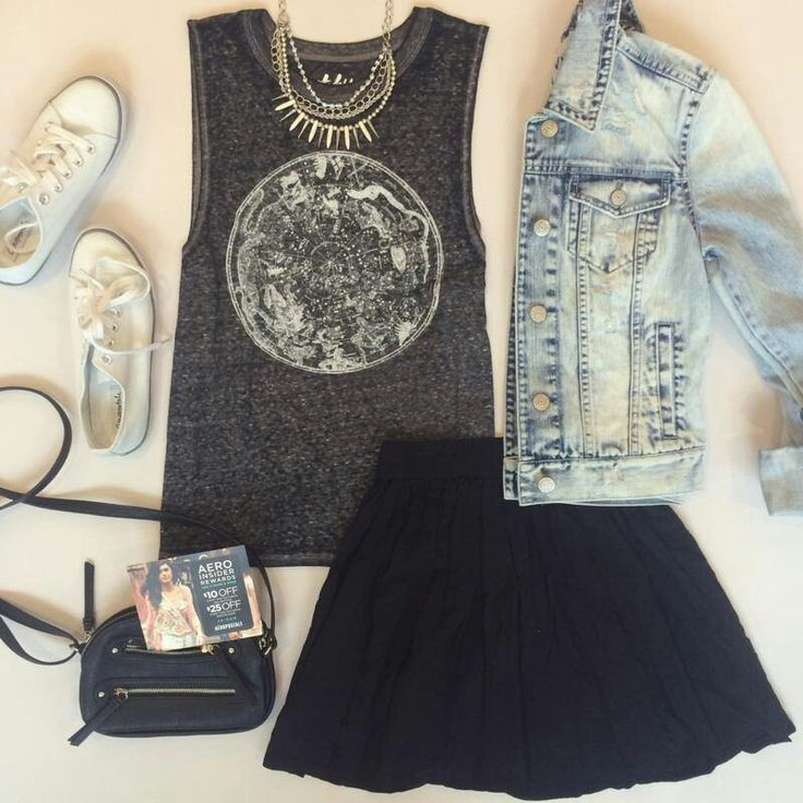 Love the whole outfit. Really need a jean jacket
