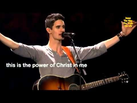 "In Christ Alone sung by Kristian Stanfill, recorded at Passion 2013 ""No power in hell, no scheme of man can ever pluck me from His hand"""