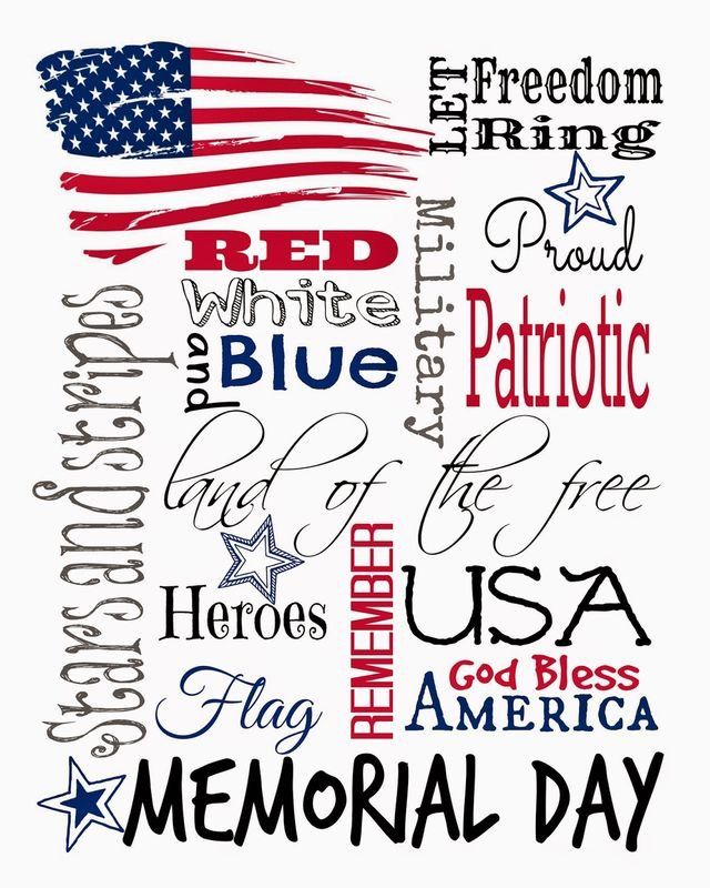 15 best Memorial Day images on Pinterest   Amerikanische flagge ...
