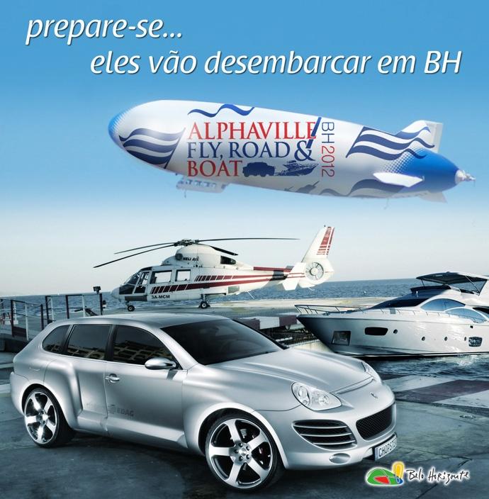 Alphaville Fly, Road & Boat. Feira bem legal e sofisticada proximo a BH em junho. Imperdivel.