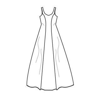 Cecilie Brudekjole str.32-46 Til brud og konfirmand m/prinsessesnit 32 (34) 36 (38) 40 (42) 44 (46) Model A (kort) og B (lang) Klassisk brude- eller konfirmationskjole. Kjolen sidder til om bryst og talje. Fra taljen folder kjolen sig ud med vidde og et lille elegant slæb. Sy også tylskørtet til kjolen. Det skal du bruge 275 (280) 285 (290) 295 (300) 305 (310) cm fast stof til model A, stofbredde 140 cm 245 (250) 255 (260) 275 (280) 285 (290) cm foer til model A, stofbredde 140 cm 640 (650)…