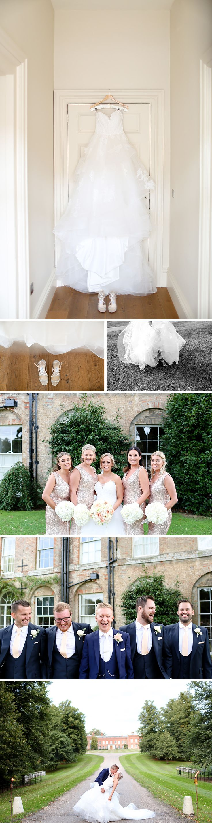 Real Wedding – Sophie and Tom's Champagne-Theme Wedding At Braxted Park | CHWV