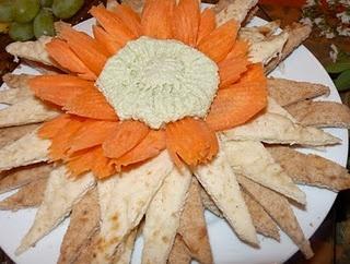 edamame hummous sunflower