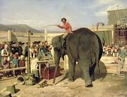 At the Circus 1861  by Paul Friedrich Meyerheim
