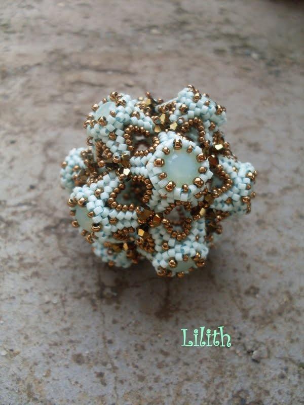 Lilith Gyöngyékszerek: Spherriffic - Try To Bead pattern