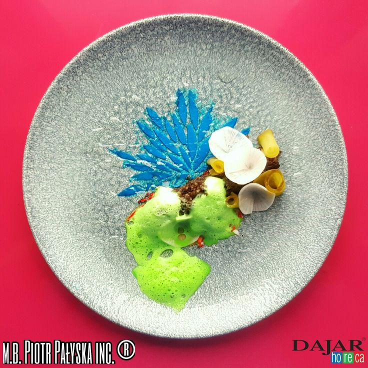 PLATE 9 Black Pudding/ Chocolate/ Mascarpone/ Milk made by Piotr Pałyska #plate #abstract #expressionism #gastronomy.