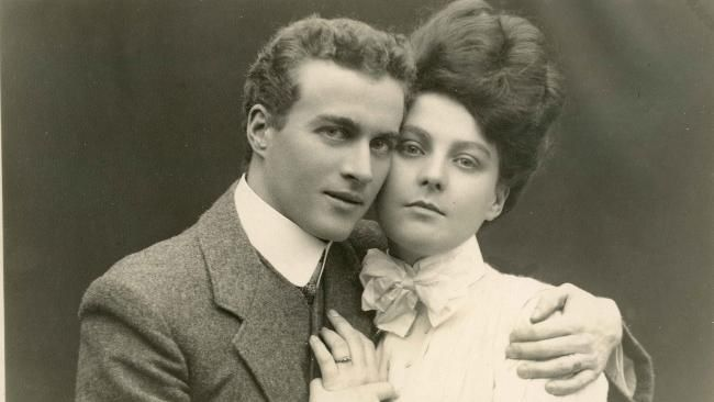 Lionel Logue, age 26, the Australian speech therapist responsible for helping King