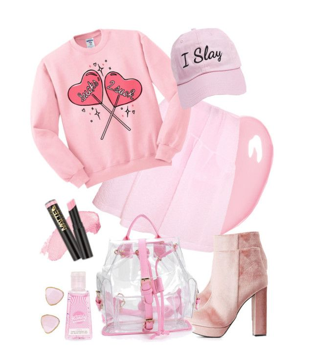 """""""SWEET PINK"""" by kharismabelle on Polyvore featuring Christian Dior, Simone Rocha, Charlotte Russe, Topshop, Ottoman Hands, Steve Madden and thebestpolyvorians"""