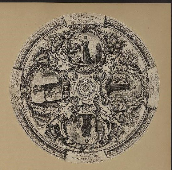 Four Ages of Woman compared to the Four Seasons -- design for an ecran perhpas by Bosse c.1540 in the Mus des Arts Decoratifs accessible via gallica