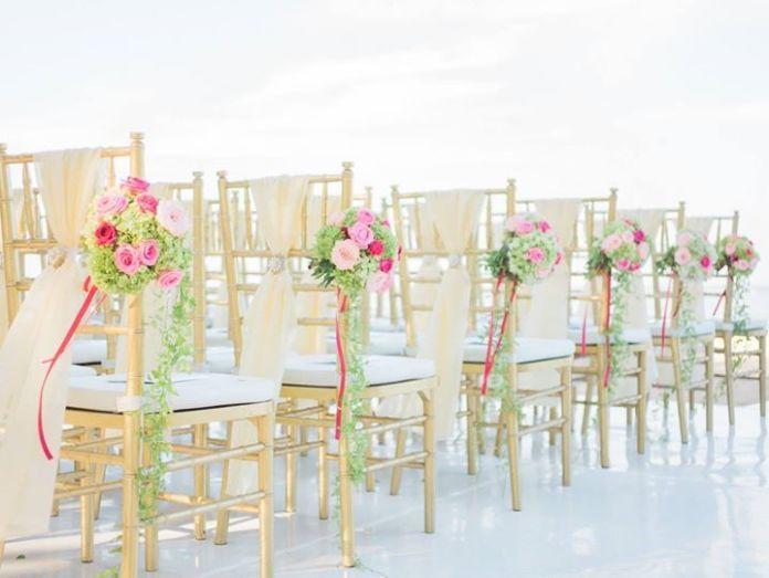 58 best creative chair decor ideas images on pinterest wedding beach wedding decoration httpbridestoryflora junglespirit Images