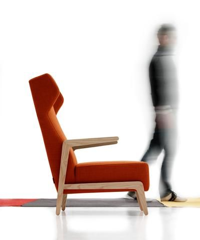 Sancal BOOMERANG CHILL Lounge Chair Designed By Quim Larrea