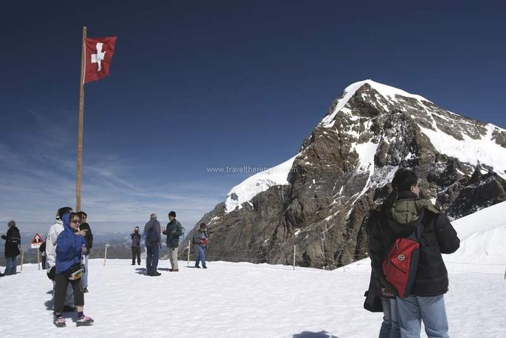 Swiss Alps - Top of the mountain  #switzerland #lucerne #adventure #snow #alps #fun #experience #interesting #travel #traveltherenext #mountain #train