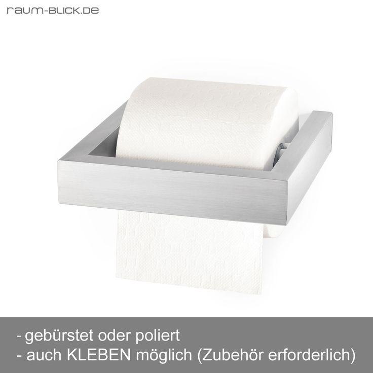 Zack LINEA Toilettenpapierhalter Edelstahl   Raum Blick Shop