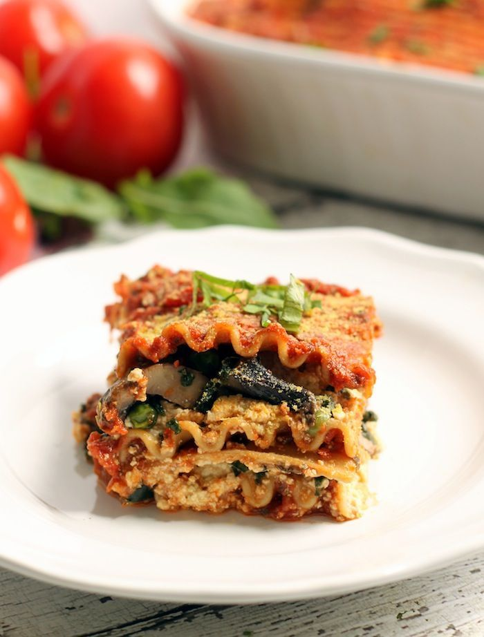 """This Easy Vegan Lasagna is an amazing meatless, dairy-free lasagna packed with a hummus tofu ricotta that'll please any carnivore! This is one those """"there's no way in hell that's vegan"""" moments. THE MOST MOMENTOUS OF MOMENTS. It was a proud, proud moment when my carnivorous boyf and I first sank ourteeth into this lusciouslasagna. The truth is that I've been making a version of thisdelicacy for years, and if you're a loooooong time Hummusapien...Read More »"""
