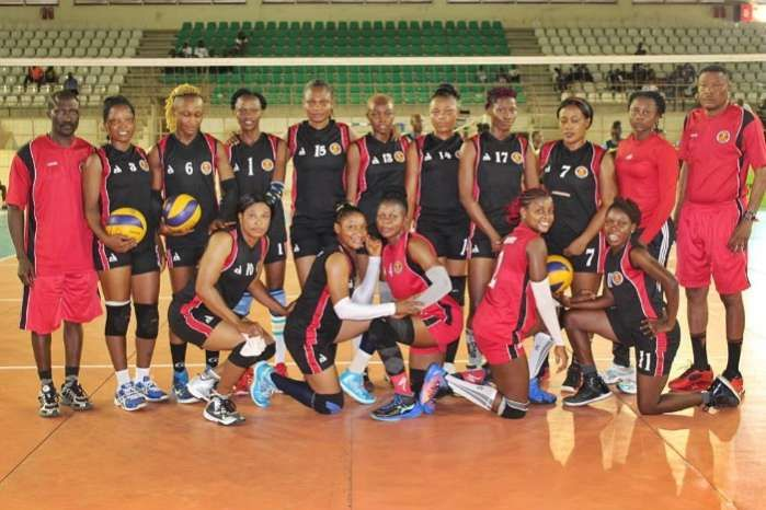 Volleyball Coas Spikers Beat Immigration In Premier League Clash Match Of The Day Premier League Army Girl