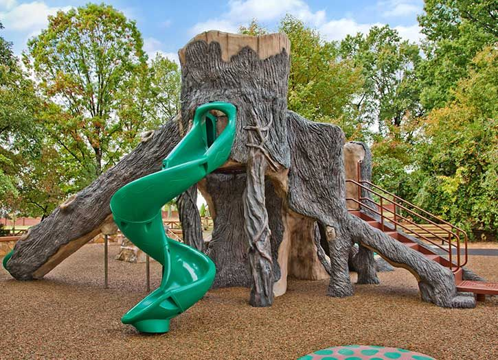 27 best images about playgrounds of fun on pinterest Natural Playground Equipment Tree House Designs