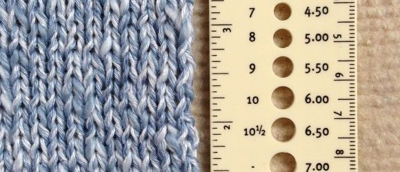How to Block a Gauge Swatch: Find out on my blog! Useful for knitters (and crocheters) of all skill levels.