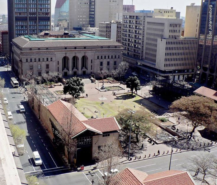 Johannesburg Central library.