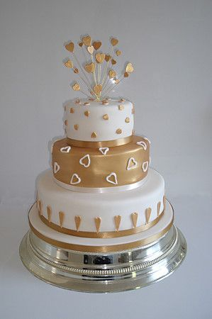 Google Image Result for http://www.sugarcraftemporium.com/system/files/358/3-tier-golden-wedding-anniversary-cake_lightbox.jpg%3F1298156702